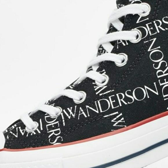 Converse X JW Anderson Chuck Hi 70's Grid Black??